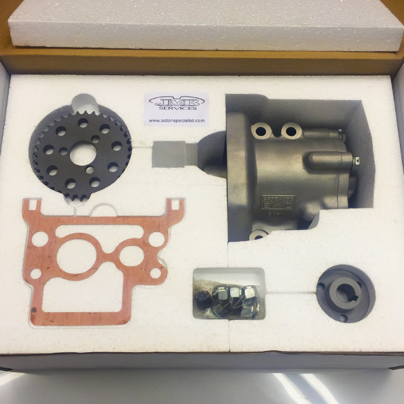 Custom Replacement Oil Pump Box for Classic Heritage Aston Martins by JMB Services
